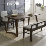 bộ bàn ăn 4 ghế lenus