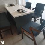 ghế ăn hàn quốc lenus 5