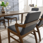 bộ bàn ăn 4 ghế lenus 50