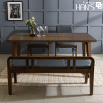 bộ bàn ăn 4 ghế lenus 55