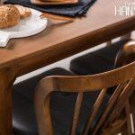 bộ bàn ăn hàn quốc ryan 55