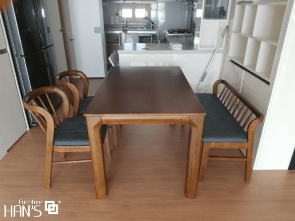 bộ bàn ăn ryan 64