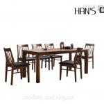bộ bàn ăn zena 32