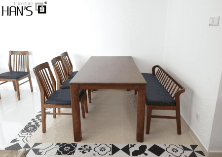 bộ bàn ăn zena 6