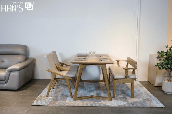 bộ bàn ăn anan 8