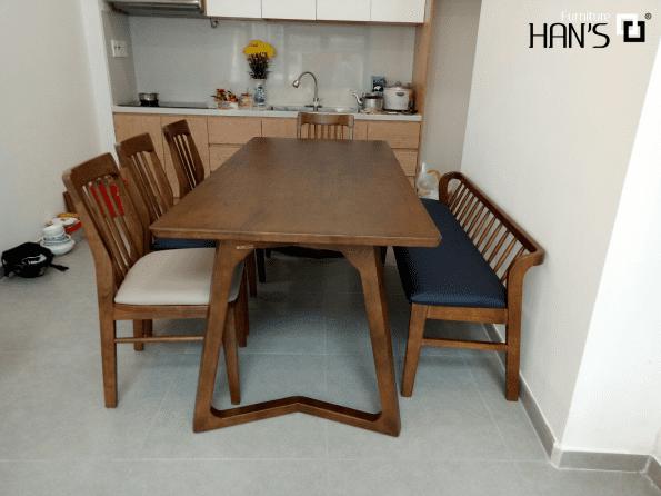 bộ bàn ăn hàn quốc han's 2