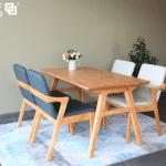 bộ bàn ăn romance 6