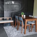 bộ bàn ăn 4 ghế cerany 10