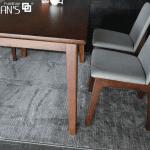 bộ bàn ăn 4 ghế cerany 18