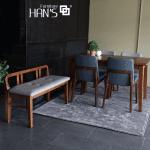 bộ bàn ăn 4 ghế cerany 9