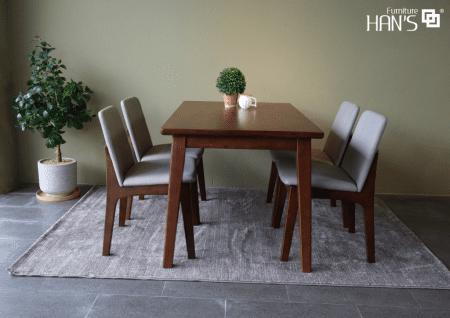 bộ bàn ăn 4 ghế cerany 15
