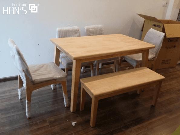 bộ bàn ăn hàn quốc cerany 5
