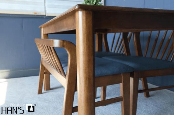 bộ bàn ăn hàn quốc ryan 42