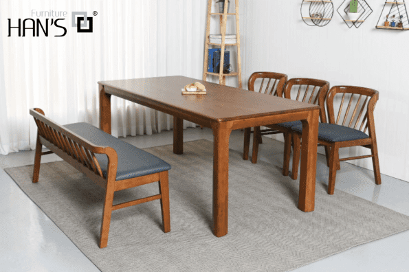 bộ bàn ăn ryan 3